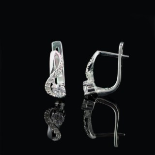 Silver earrings Elegant