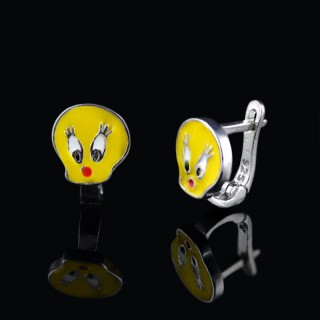 Kids earrings Tweety